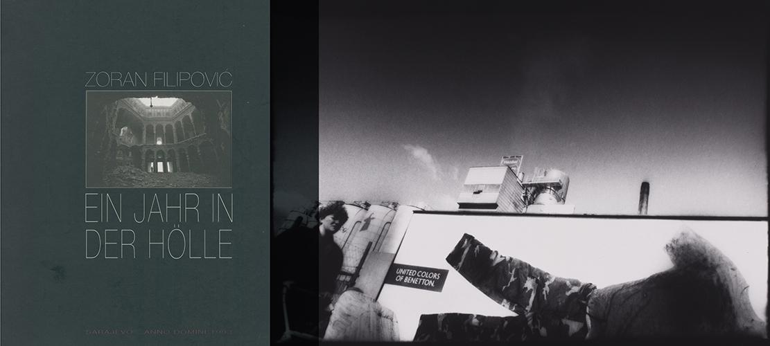 Collage; Ein Jahr in der Hoelle; Buchcover; Sarajevo 1994