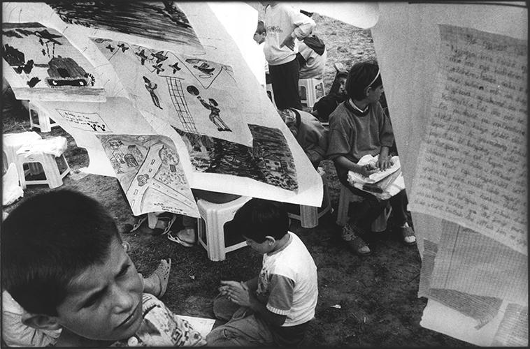 Mazedonien; Fluechtlingslager Stankowicz II; 1999